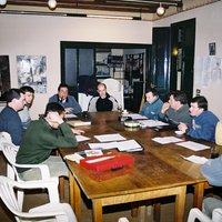 Reunió d'escacs al Casal Municipal Hort de Cruells
