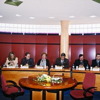Acte de cloenda i entrega de diplomes de l'Escola Taller al Saló de Plens de l'Ajuntament de Roquetes
