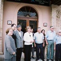 Visita de la Sr. Irene Rigau, Consellera de Benestar Social