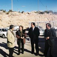 Inauguració de la deixalleria municipal de Roquetes