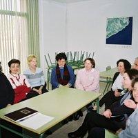Reunió de mestres del CEIP Raval de Cristo de Roquetes