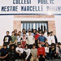 Curs 2000-2001. 5è d'Educació Primària. Escola Mestre Marcel·lí Domingo.
