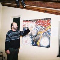 Exposició de pintura de Miquel Accensi a l'Hort de Cruells