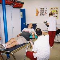 Donació de sang al CAP Roquetes