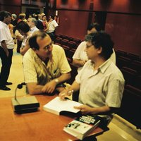 """Presentació del llibre """"Conflicte i violència a l'Ebre: de Napoleó a Franco"""" de l'autor Josep Sánchez Cervelló."""