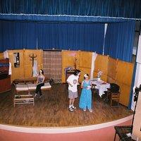 """Representació de l'obra de teatre """"Torna-la a tocar Sam"""" a càrrec del grup de teatre """"La Lira"""""""
