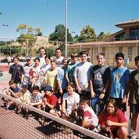 Escola de tennis de Roquetes.