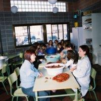 Festa de la Castanyada a l'Escola Mestre Marcel·lí Domingo