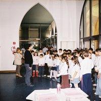 Actuació Coral &quot;Novella Harmonia&quot; de l&#039;Escola Mestre Marcel·lí Domingo a la Delegació del Departament d&#039;Educació a les Terres de l&#039;Ebre. <br /><br />