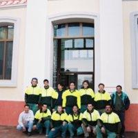 Plantilla treballadors del Parc Natural dels Ports