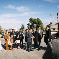 Inauguració de la nova plaça de la Raval de Cristo