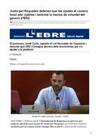 Junts per Roquetes defensa que les ajudes al comerç local són viables i lamenta la manca de voluntat del govern d'ERC.