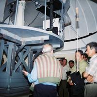 Visita a l'Observatori de l'Ebre, any 2002