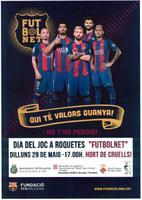 """Dia del Joc a Roquetes """"Futbonet"""""""