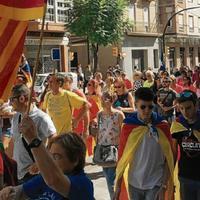 Tortosa, Jesús i Roquetes units per commemorar l'1-O