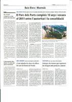 El Parc dels Ports compleix 10 anys i encara el 2011 entre l'austeritat i la consolidació
