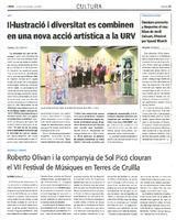 Òmnium presenta a Roquetes el nou llibre de Jordi Cuixart, il·lustrat per Ignasi Blanch.