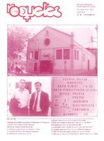 Roquetes: revista mensual d'informació local, número 85, octubre, 1992.