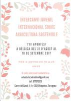 Intercanvi juvenil internacional sobre agricultura sostenible