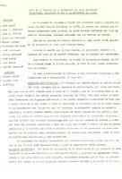 Acta de la reunió de la directiva del CD Roquetenc, celebrada el 3 de novembre de 1971