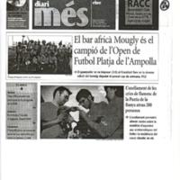 El bar africà Mougly és el campió de l'Open de Futbol Platja de l'Ampolla