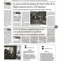 El PSC de Roquetes proposa construir tres nous polígons industrials a la població