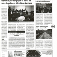 Veïns de Roquetes reclamen millores del camí del Moc