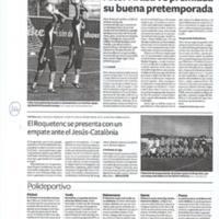 El Roquetenc se presenta con un empate ante el Jesús-Catalonia