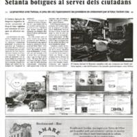 Setanta botigues al servei dels ciutadans