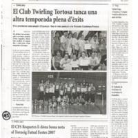 El CFS Roquetes li dóna nota al torneig Futsal Festes 2007