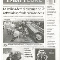 La Policia deté el piròman de cotxes després de cremar-ne 21