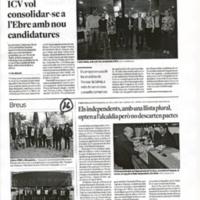 Llista d'ERC a Roquetes