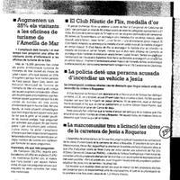 La Mancomunitat treu a licitació les obres de la carretera de Jesús a Roquetes