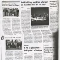 Llista renovada d'ERC a Roquetes