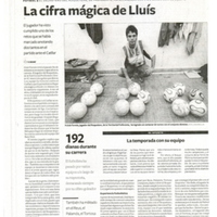 La cifra mágica de Lluís