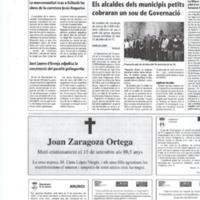 La Mancomunitat trau a licitació les obres de la carretera Jesús-Roquetes
