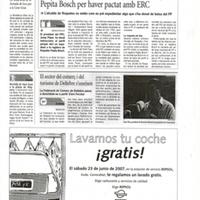El PP podria expedientar la regidora de Roquetes Pepita Bosch per haver pactat amb ERC