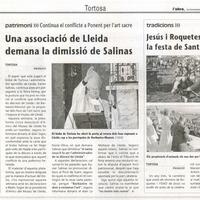 Jesús i Roquetes viuen la festa de sant Antoni