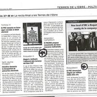 El PSC denunciarà Alegret per utilitzar dades dels avis