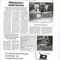 Bibliotecària i també blocaire