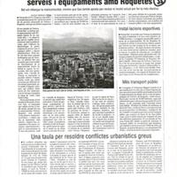 Tortosa es fixa el repte de compartir més serveis i equipaments amb Roquetes