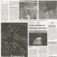 La Lira continua el centenari amb el teatre