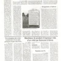 La Diputació fa obres prèvies a la urbanització de la carretera de Roquetes