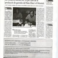 Els robatoris afecten un 30 per cent de la producció de garrofes del Baix Ebre i el Montsià