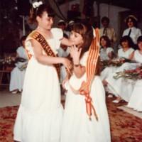 Presentació Pubilles i Pubilletes any 1984