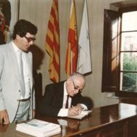 Sr. Josep Subirats Piñana, pregoner de Festes l'any 1986