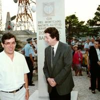 Inauguració monolit a Mont-Caro