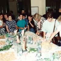 Celebració de l'elecció de la pasta típica de Roquetes a l'Hort de Cruells