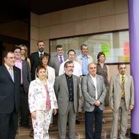 Membres del consistori de l'Ajuntament de Roquetes durant la legislatura 2007-2011