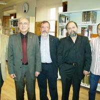 Visita del Conseller de Cultura, Sr. Joan Manel Tresserras, en motiu de la inauguració de la Biblioteca Municipal de Roquetes